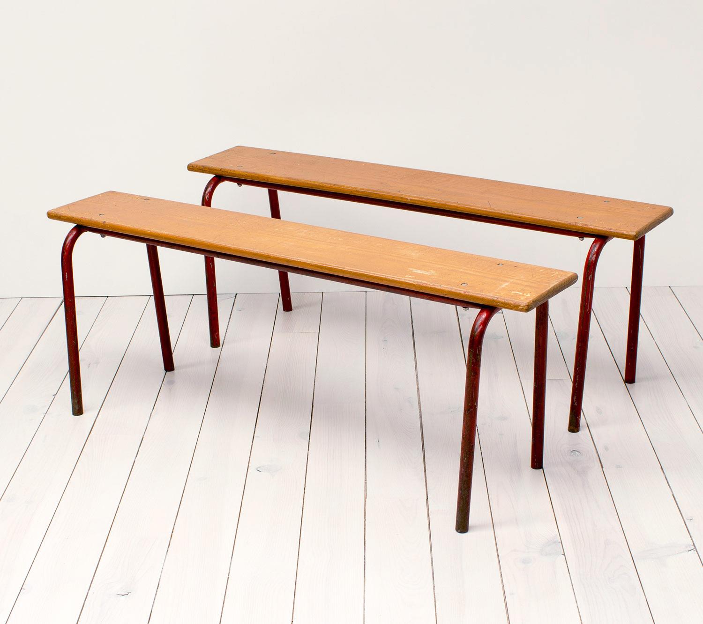 vintage school benches – arc