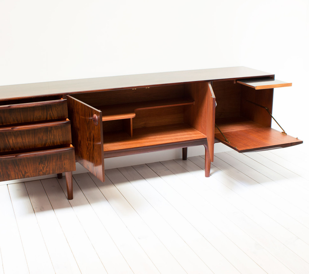 1970's Rosewood Sideboard by McIntosh