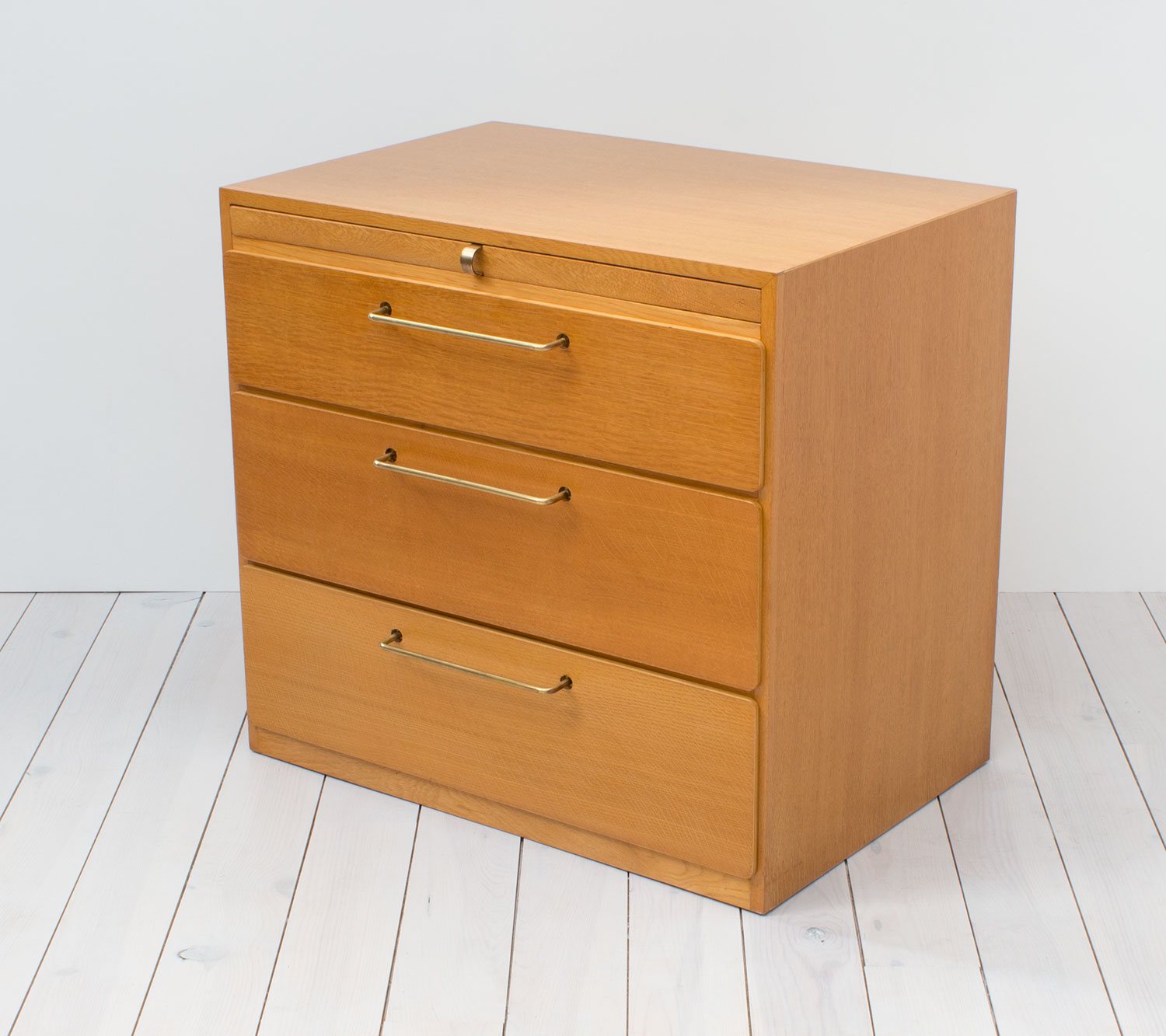 1960s Beech Chest of Drawers/Dressing Table