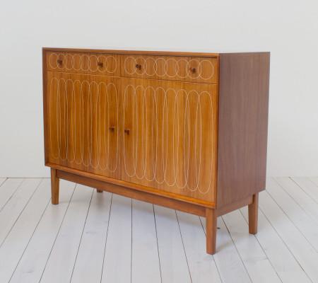 Vintage 1950s Gordon Russell Ellipse Sideboard