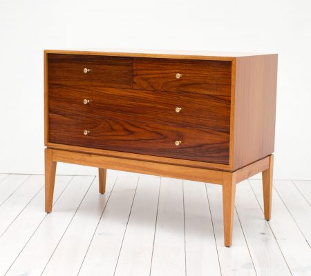 Uniflex Teak and Rosewood Chest of Drawers