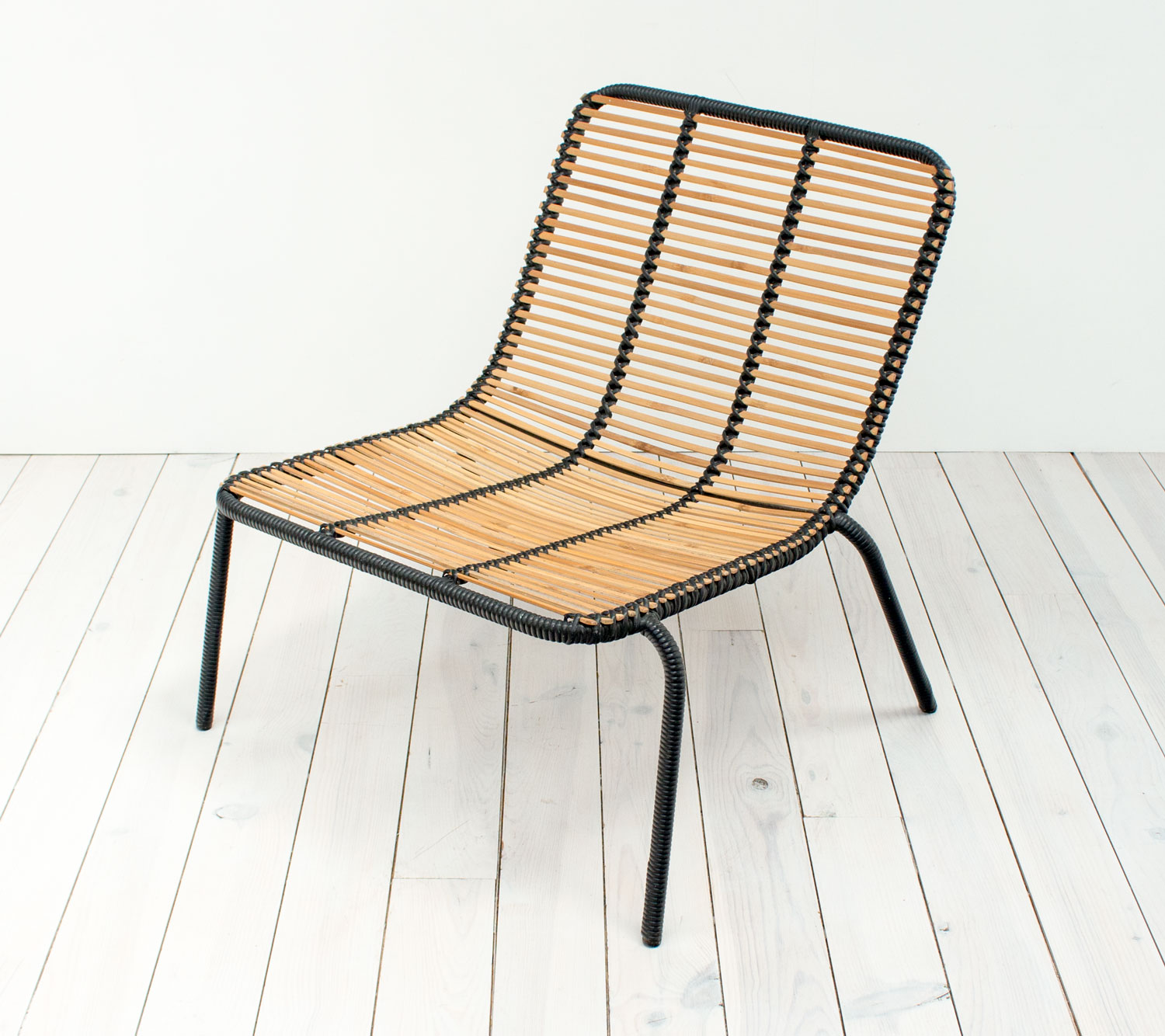 Vintage Bamboo Lounge Chair – Arc