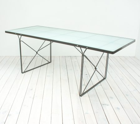Niels Gammelgaard 'Moment' Glass Dining Table