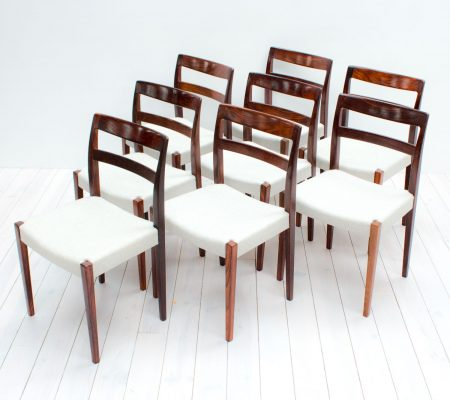 Rosewood Dining Chairs by Nils Jonsson for Troeds