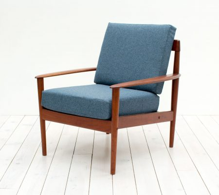 Danish Teak Armchair by Grete Jalk