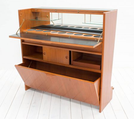Danish Teak Dry Bar By Johannes Andersen Arc Furniture