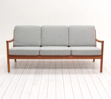 France & Son Teak Senator Sofa by Ole Wanscher