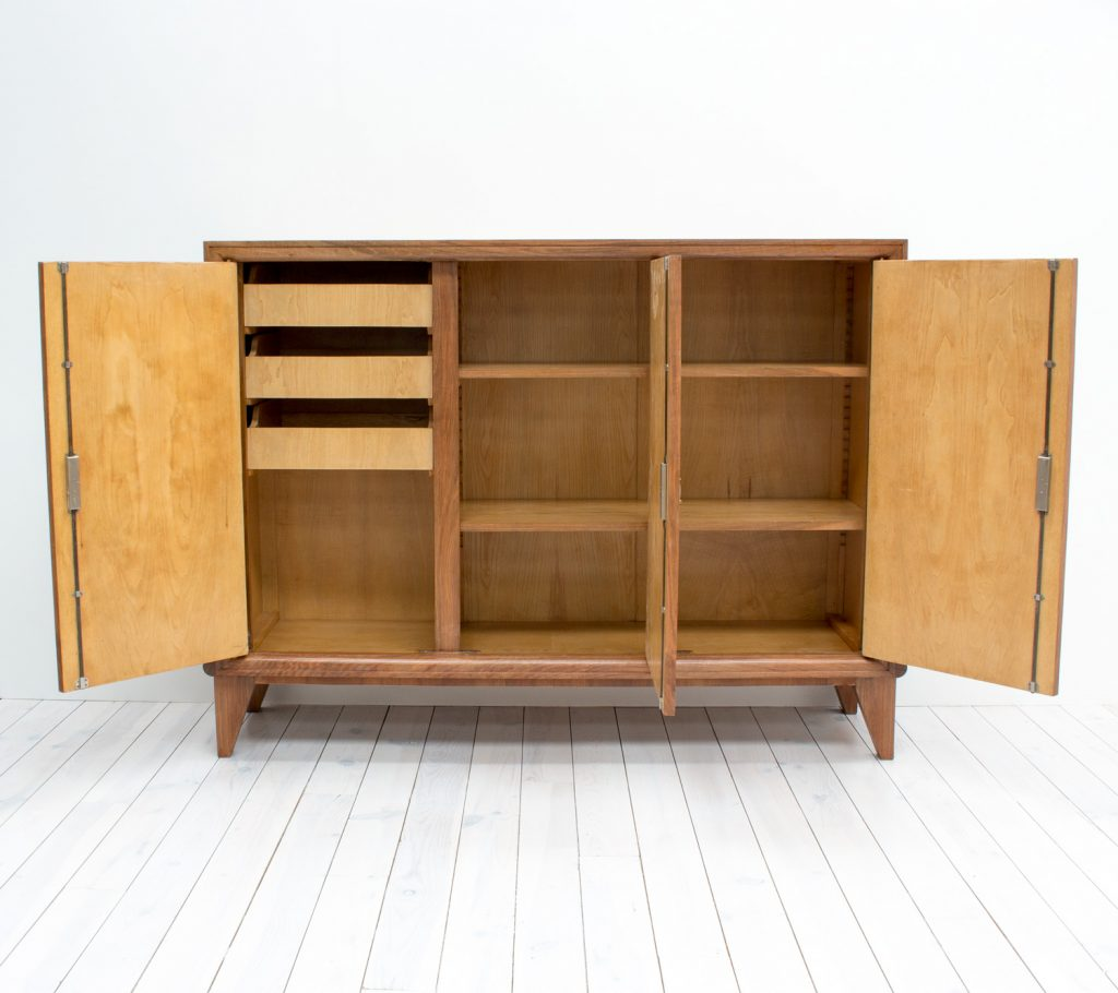 Cool Art Deco Kitchen Cabinets: French Art Deco Linen Cabinet