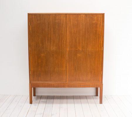Danish Mahogany Linen Cabinet by CB Hansens
