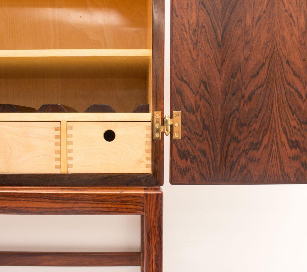Kurt Østervig Rosewood Drinks Cabinet/Dry Bar
