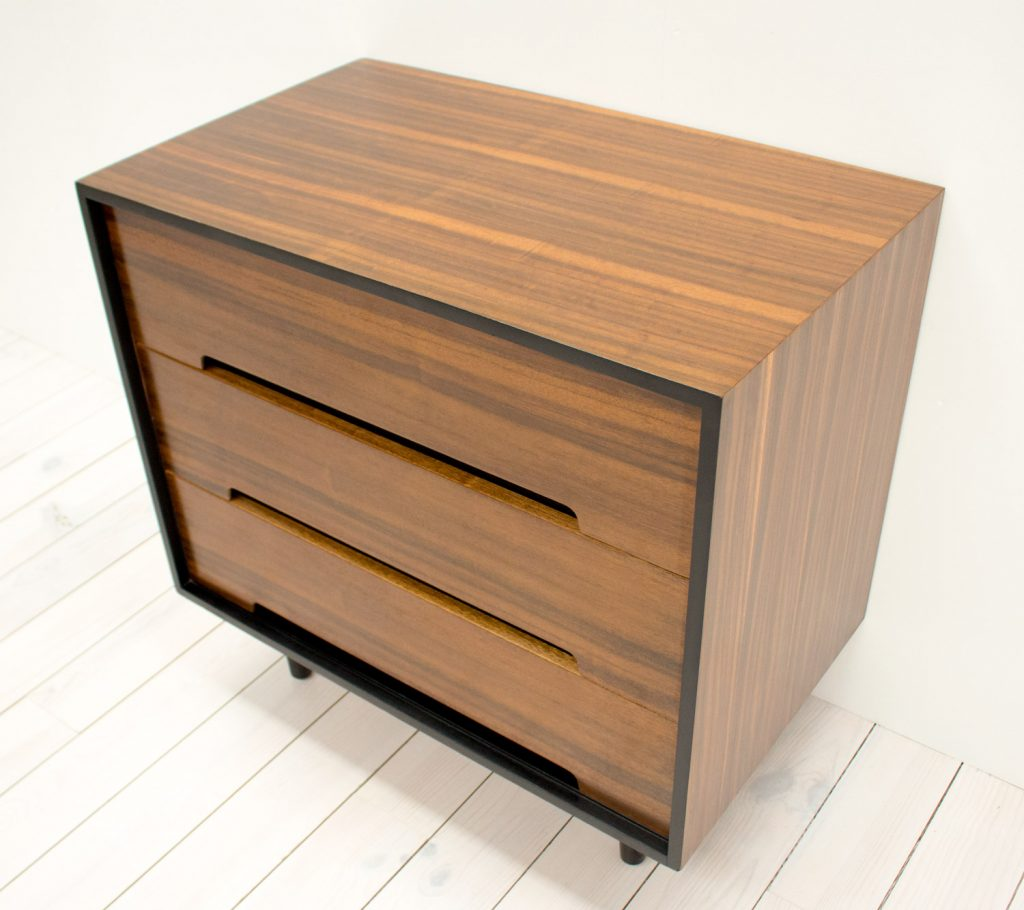 Stag C Range Walnut Chest Of Drawers