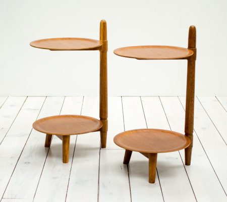 Pair of Danish Teak Side Tables by Greaves and Thomas