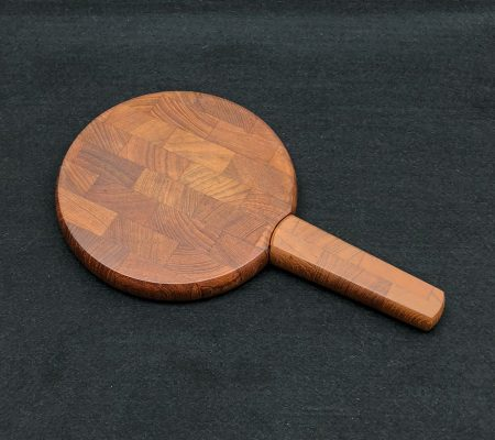 Teak Cheese Board and Knife by Jens Quistgaard for Dansk
