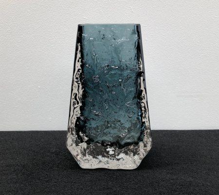 Whitefriars Indigo Coffin Vase