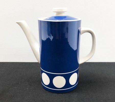 T G Green Jersey Blue Coffee Pot