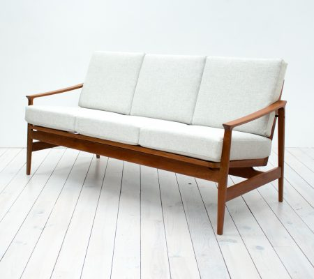 1960s Teak Sofa by Thonet