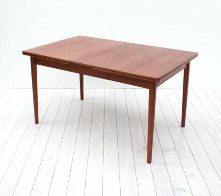 Bjarnum Teak Extending Dining Table by Troeds
