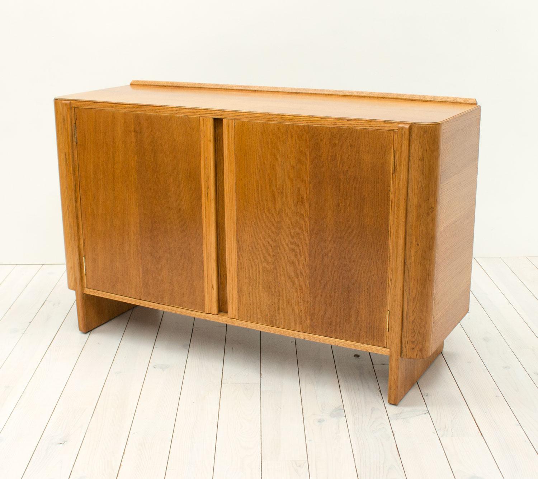 Art Deco Oak Utility Sideboard