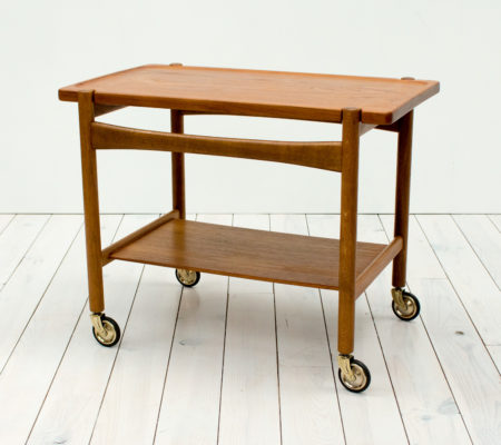 Teak & Oak Drinks Trolley by Hans J. Wegner