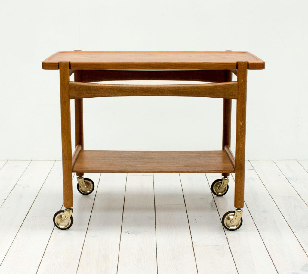 Teak & Oak Drinks Trolley by Hans J. Wegner