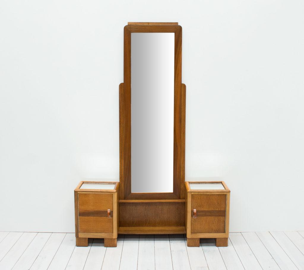 Art Deco Cheval Hall Mirror Arc Furniture