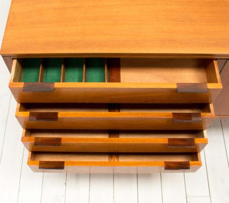 Teak & Rosewood Sideboard by Robert Heritage