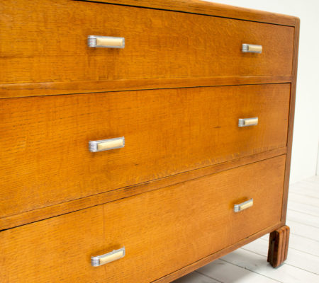 Art Deco Oak Chest of Drawers