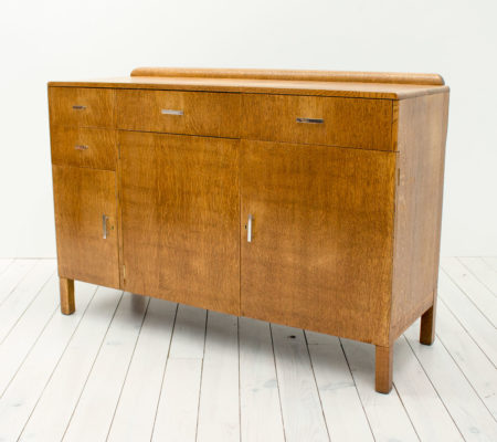 Art Deco Oak Sideboard