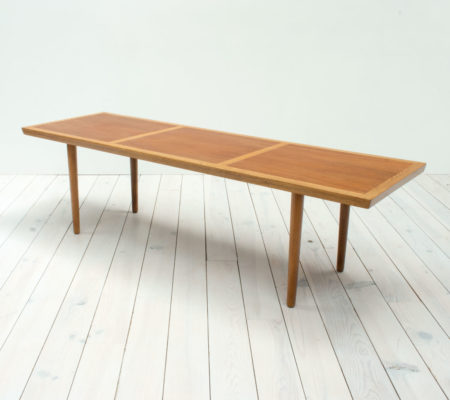 Danish Teak & Oak Coffee Table by Frem Røjle