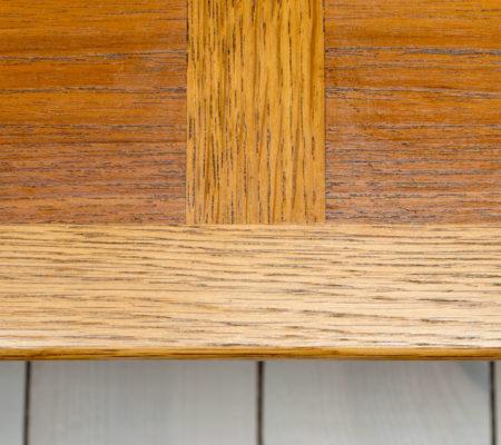 Danish Teak & Oak Coffee Table by Frem Røjle