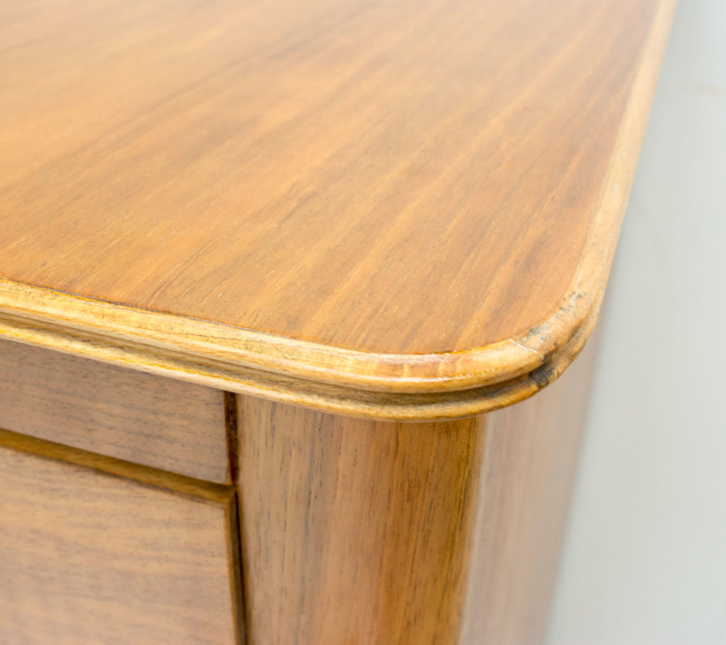 Gordon Russell Walnut and Beech Chest of Drawers