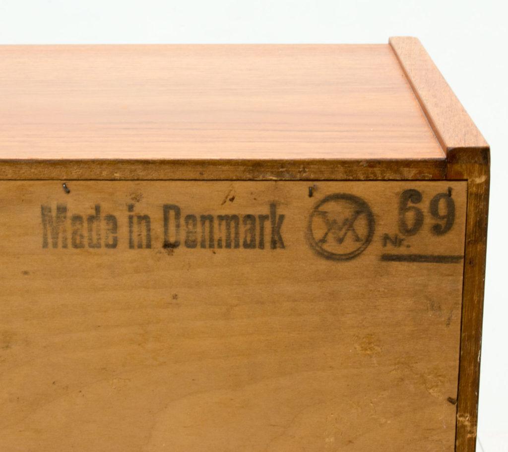 Danish Teak Bureau by Arne Wahl Iversen