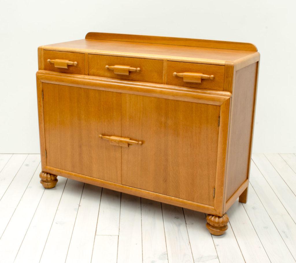 Art Deco Oak Sideboard