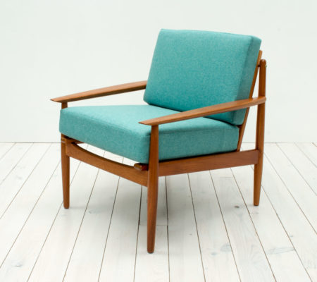 Danish Teak Armchair by Arne Vodder for Glostrup
