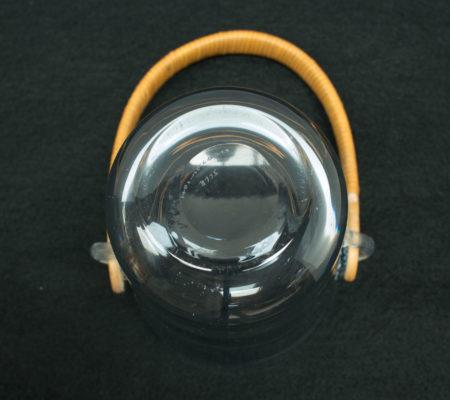 Glass Ice Bucket by Per Lütken for Holmegaard
