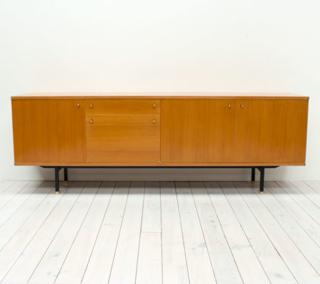 1960s Teak Sideboard by Paul Geoffroy for Roche Bobois