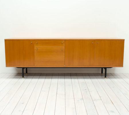 1960s Teak Sideboard by Paul Geoffroy for Roche Bobois