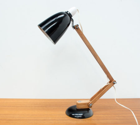 Vintage Black Maclamp by Terence Conran