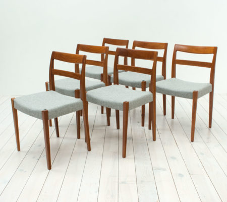 Garmi Teak Dining Chairs by Nils Jonsson for Troeds