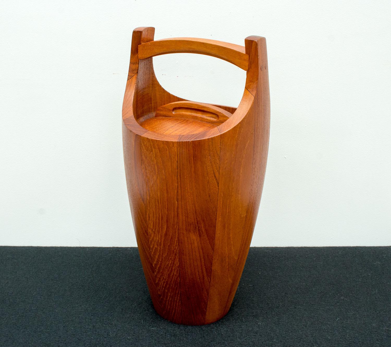 Teak Congo Ice Bucket by Jens Quistgaard for Dansk