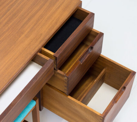 1960s Afromosia Dressing Table/Desk by Richard Hornby