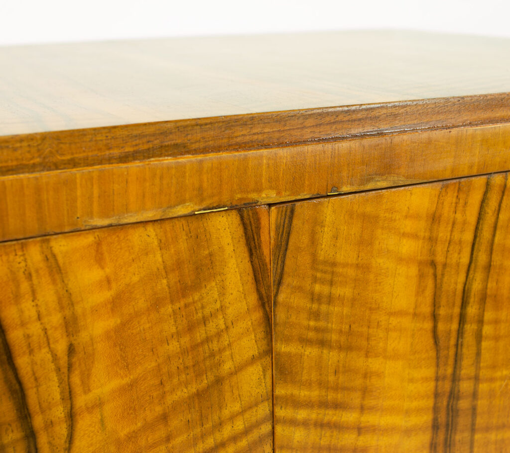 Art Deco Heals Walnut Tallboy