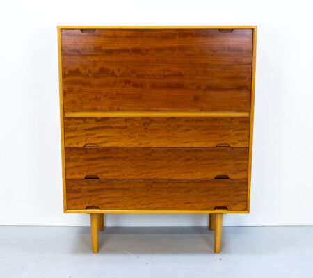 Robin Day Hilleplan Cherry Bureau by Hille