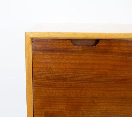 Robin Day Hilleplan Cherry Bureau by Hille