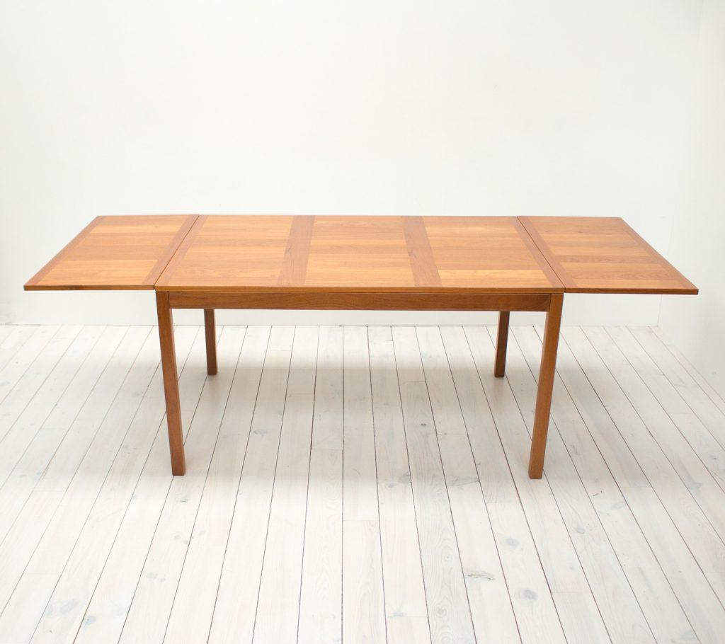 Danish Teak Extending Dining Table by Vejle Stole
