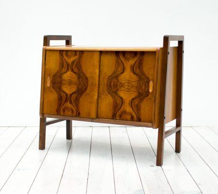 1950s Walnut Record/Drinks Cabinet