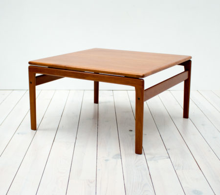 Danish Teak Square Coffee Table by Trioh