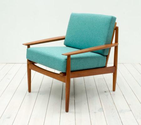 Danish Teak Armchair by Arne Vodder for Glostrup