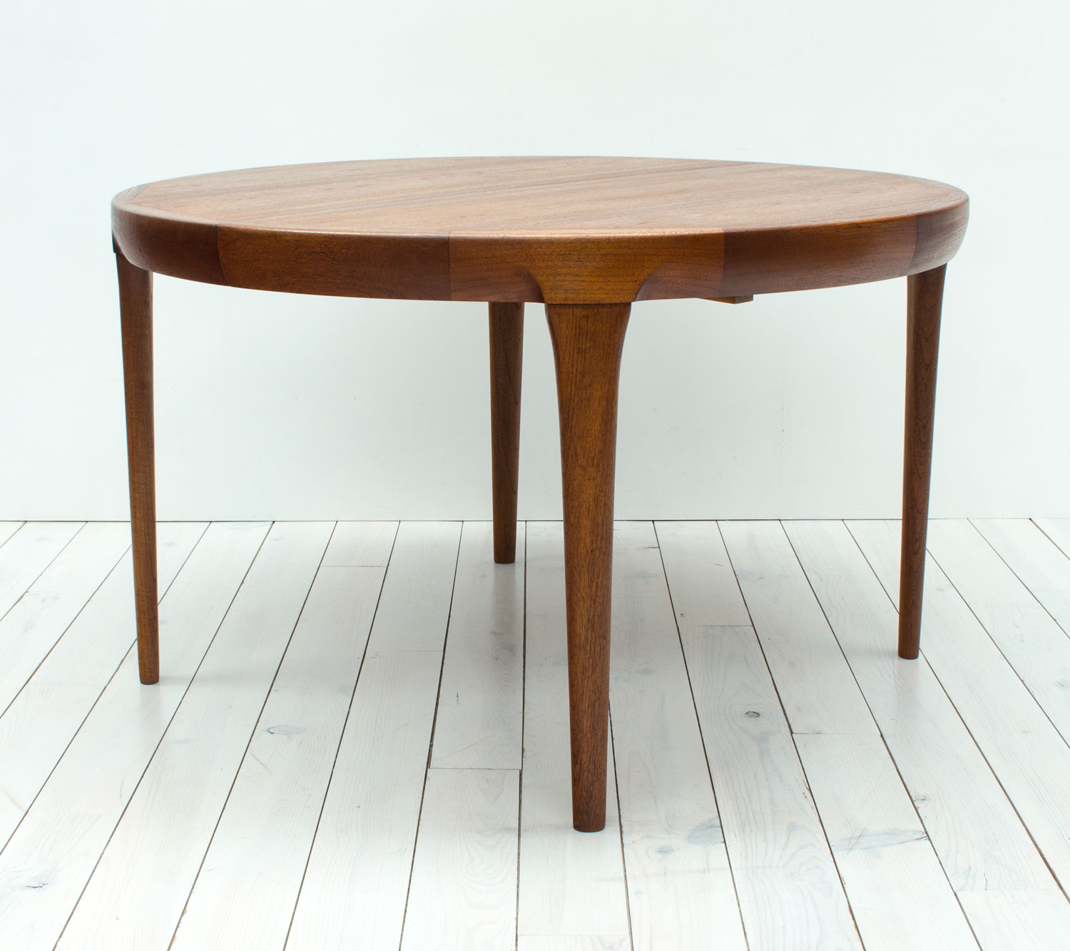 Danish Teak Extending Dining Table by Faarup