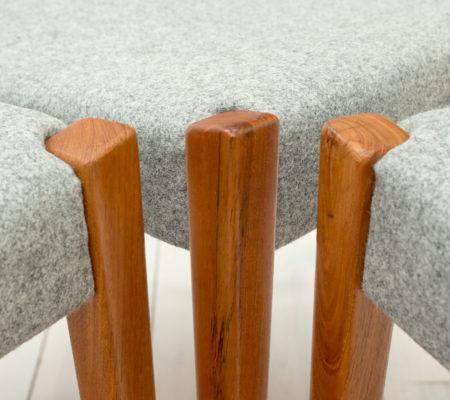 Garmi Teak Dining Chairs by Nils Jonsson for Troeds